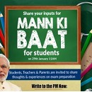Inviting Students,Teachers & Parents to share thoughts on exam preparation for Mann Ki Baat – The Education Point
