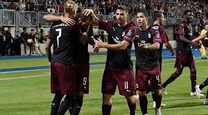 123cbdb7a0 Itália  Milan vence um mês depois no campeonato com goleada