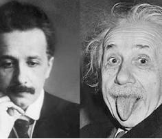 Einstein, el genio que iventó, tambien, una heladera
