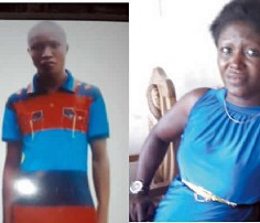Image result for Woman raises the alarm as son disappears from police cell after paying N60,000 for bail.