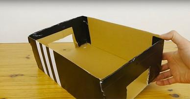 Вот что можно сделать из старой коробки. Многие в детстве мечтали отаком!