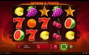 Φρουτάκια με Εφτάρια – δωρεάν παιχνίδι και σε ποια καζίνο θα τα βρείτε