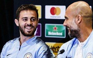 bdaf5511f8 Guardiola diz que Bernardo Silva já é a maior estrela de Portugal e o mais  adorado no City