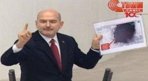 Süleyman Soylu TBMM'de protesto edildi
