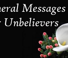 funeral prayers for unbelievers