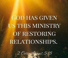 Scriptures on restoration of relationships