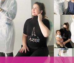 Katia Aveiro e os filhos fazem teste à Covid-19