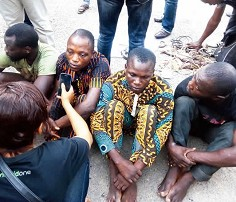 Image result for Operatives arrest 11 traffickers in Anambra, rescue three children