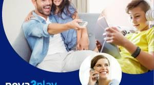 Τηλεόραση, Internet, Τηλεφωνία μόνο με 25,65€/μήνα & μόνο από τη Nova!