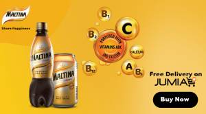 Find your Happiness with Maltina. Get a free delivery at your doorstep when you shop on Jumia.